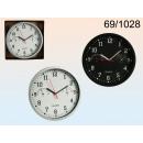 wholesale Clocks & Alarm Clocks: Clock with thermo and hygrometer - WHITE