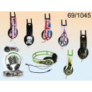 Stereo headphones styles