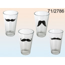 wholesale Drinking Glasses:A glass with a mustache