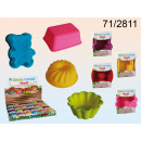 wholesale Casserole Dishes and Baking Molds: Set of 2 silicone molds for cakes
