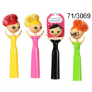 wholesale Cleaning: Brush for washing dishes Funky Lady