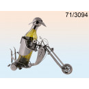 Wine rack motorcyclist