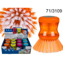 wholesale Cleaning: Brush to wash  dishes with the liquid container