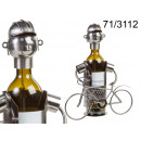 Wine rack cyclist