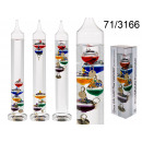 wholesale Weather Stations: Galileo thermometer 28 cm