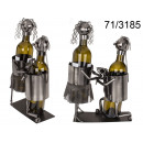 wholesale Wines & Accessories: Metal wine rack - couple in love V