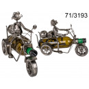 wholesale Wines & Accessories: Metal wine rack - motorcyclist II