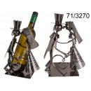 wholesale Food & Beverage: Metal wine rack - couple in love III