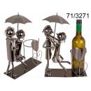 wholesale Food & Beverage: Metal wine rack - couple in love IV