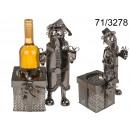 wholesale Food & Beverage: Metal wine rack - Santa Claus