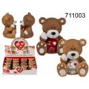 Teddybeer I love you - 16 stuks