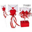 wholesale Giftware: Stick heart of the envelope