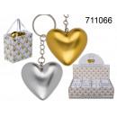 grossiste Cadeaux et papeterie: Pendentif coeur dans son sac à main