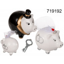 wholesale Saving Boxes: Piggy moneybox bride or groom
