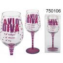 Wine glass Diva