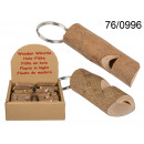 Pendant wood - whistle