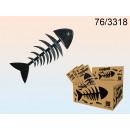 Comb fish skeleton
