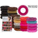 wholesale Hair Accessories: Hair bands telephone cable (5 pieces)