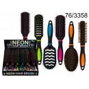 wholesale Drugstore & Beauty:Hairbrush - neon colors