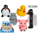 animaux ongles Brosse