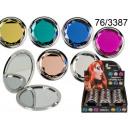 grossiste Make-up Accessoires: Miroir de poche Crystal lueur