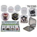 mayorista Make-up Accessoires: Espejo de bolsillo para perros y gatos.