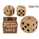 wholesale Parlor Games:Wooden dice XL