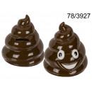 Großhandel Spielwaren: Piggy bank Emoticon Poo - Kupa