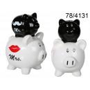 grossiste Cadeaux et papeterie:Piggy Mr & Mrs