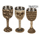 wholesale Drinking Glasses:chalice skull