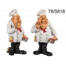 Figurine eines Kochs