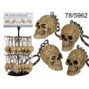grossiste Porte-cles:crâne Pendentif