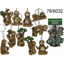 Keychain pendant sloth