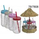 wholesale Cups & Mugs: A set of tiki mugs with an umbrella