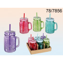 wholesale Crockery:Cup jar with a straw