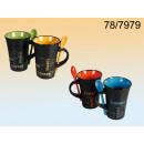 Großhandel Besteck: Becher mit einem Teelöffel Kaffee