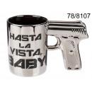 wholesale Toys: Mug gun Hasta La Vista Baby