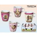 Cups Pferde - 12 Stück