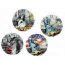 groothandel Klokken & wekkers: Wall Clock New York & London