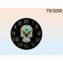 grossiste Farces et attrapes: crâne de verre coloré Horloge
