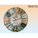 wholesale Clocks & Alarm Clocks: Clock wooden XXL - Chateau