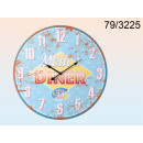 Clock wooden XXL - Mom's Diner