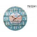 wholesale Clocks & Alarm Clocks: Tropical wooden clock retro bar