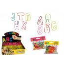 Silicone bracelets  - alphabet 36 gumeczek