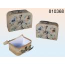 Großhandel Reiseartikel: Set bestehend aus 2 walizeczek