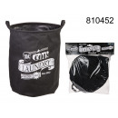 wholesale Laundry: Laundry basket folding - black