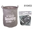 wholesale Laundry: Laundry basket folding - gray