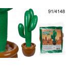 Großhandel Dekoration: Aufblasbarer Kaktus 86 cm