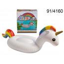 Matras voor zwemmen - Unicorn