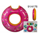 wholesale Outdoor Toys: XL swimming wheel - a bitten donut